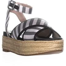 Nine West Showrunner Ankle Strap Sandals, Black, 9 US - $34.55