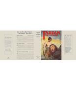 Edgar Rice Burroughs TARZAN THE UNTAMED facsimile jacket  for 1st McClur... - $21.56