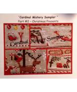 Cardinal Mystery Sampler Pt 2 Christmas Present... - $7.20