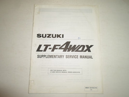 1991 Suzuki LT-F4WDX Supplementary Service Manual Minor Stains Factory Oem 91 - $19.76