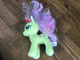 TY Sparkle My Little Pony Fluttershy Plush Beanie Baby - $9.49