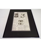 New York Times June 19 1983 Framed 16x20 Front Page Poster Sally Ride Ch... - $74.44
