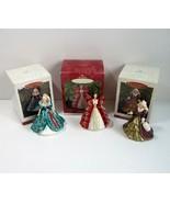 Lot of 3 Hallmark Keepsake Holiday Barbie Ornaments -1995 - 1996 - 1997 - $9.99