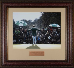Primary image for Adam Scott unsigned 2013 Masters Champion 11x14 Photo Leather Framed