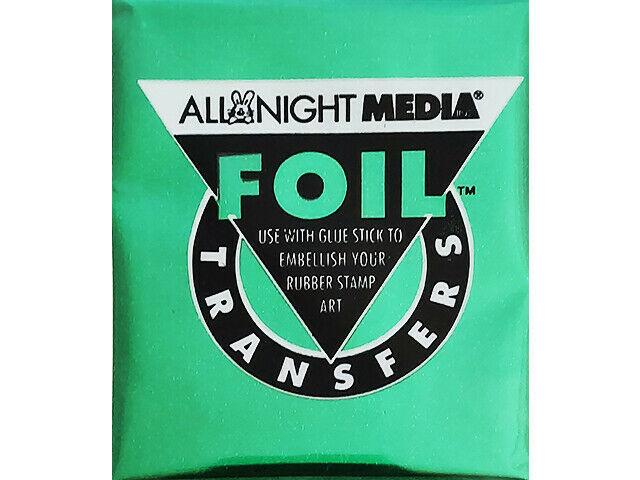 All Night Media Foil Transfer, Green #72-GRN