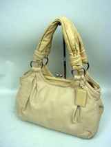 Coach Taupe Leather Parker Handbag No. L0893-13437 - Retail $450 - $79.13