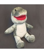 Build A Bear Toothy The Shark Gray & White Puppet Plush Stuffed Animal 1... - $28.98