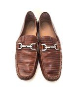 $295 Donald J Pliner Brown Driving Shoe Loafers Mens Size 10.5   11601 - $52.25