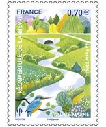 2016 France Stamp Bievre River Mint NH - $1.97