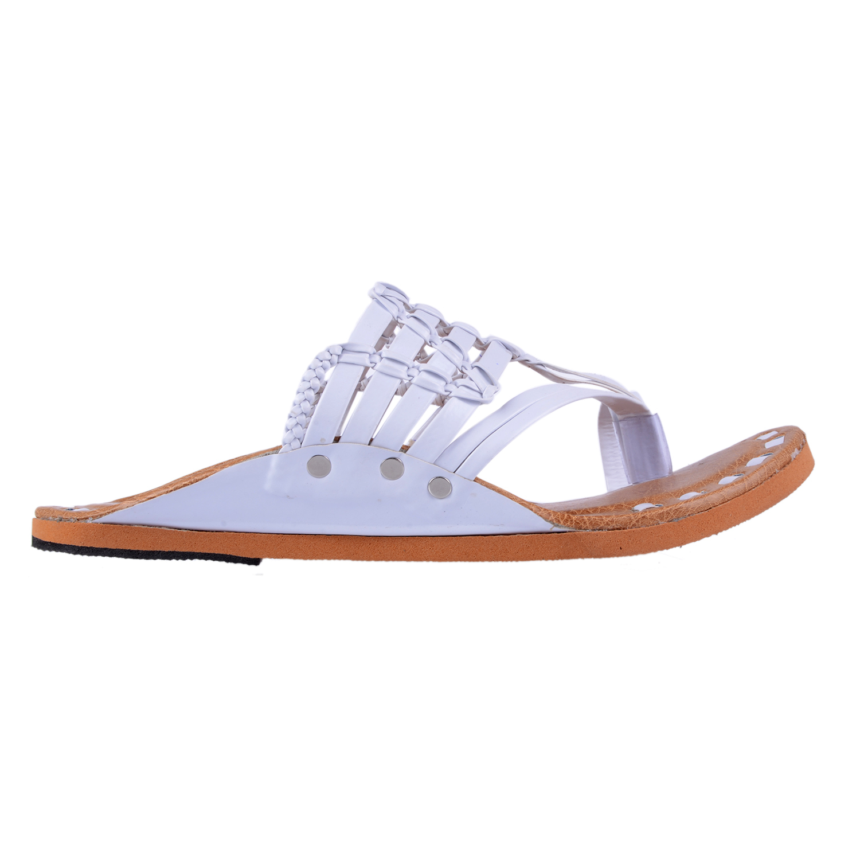 Alex Brown Handmade Ethnic Flat Slip on slippers