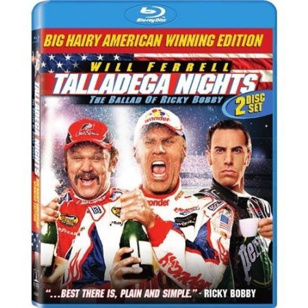 Talladega Nights: The Ballad of Ricky Bobby – Theatrical + Unrated [Blu-ray]
