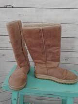 Skechers Australia Women's 7 Tan Suede Faux Fur Lined Boots - £21.30 GBP