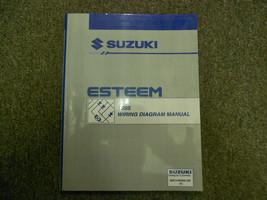1995 SUZUKI ESTEEM Wiring Shop Manual Factory OEM Book 95 2ND Ed U.S Vol - $39.57