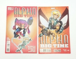 Alpha Big Time 0.1 & 2 Spider-Man Vol 1 January 2013 Marvel Comics Slott... - $8.79