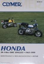 79-89 Honda Z50 Z50-r Clymer Service Repair Shop Manual - $29.59