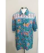 Napa Valley Women Medium.Button  Shirt Floral - $12.38