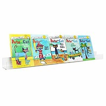 NIUBEE Kids Acrylic Floating Bookshelf 36 Inch,Clear Invisible Wall Book... - $42.97