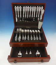 Grande Baroque by Wallace Sterling Silver Flatware Set 12 Service Dinner... - $3,900.00