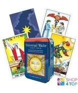 UNIVERSAL WAITE TAROT DECK TIN BOX COLMAN HANSON-ROBERTS US GAMES SYSTEM... - $24.54