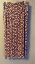 Gorgeous floral print ankle-length skirt size 14. Shy 1224 - $14.80