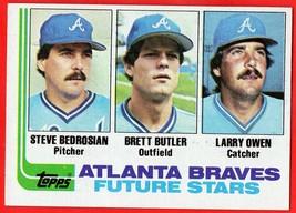 1982 Topps #502 Brett Butler RC baseball card - $0.01