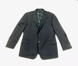 Brooks Brothers Men's (42 R)? Black Pinstripe 2 Button Wool Blend Blazer... - $59.51