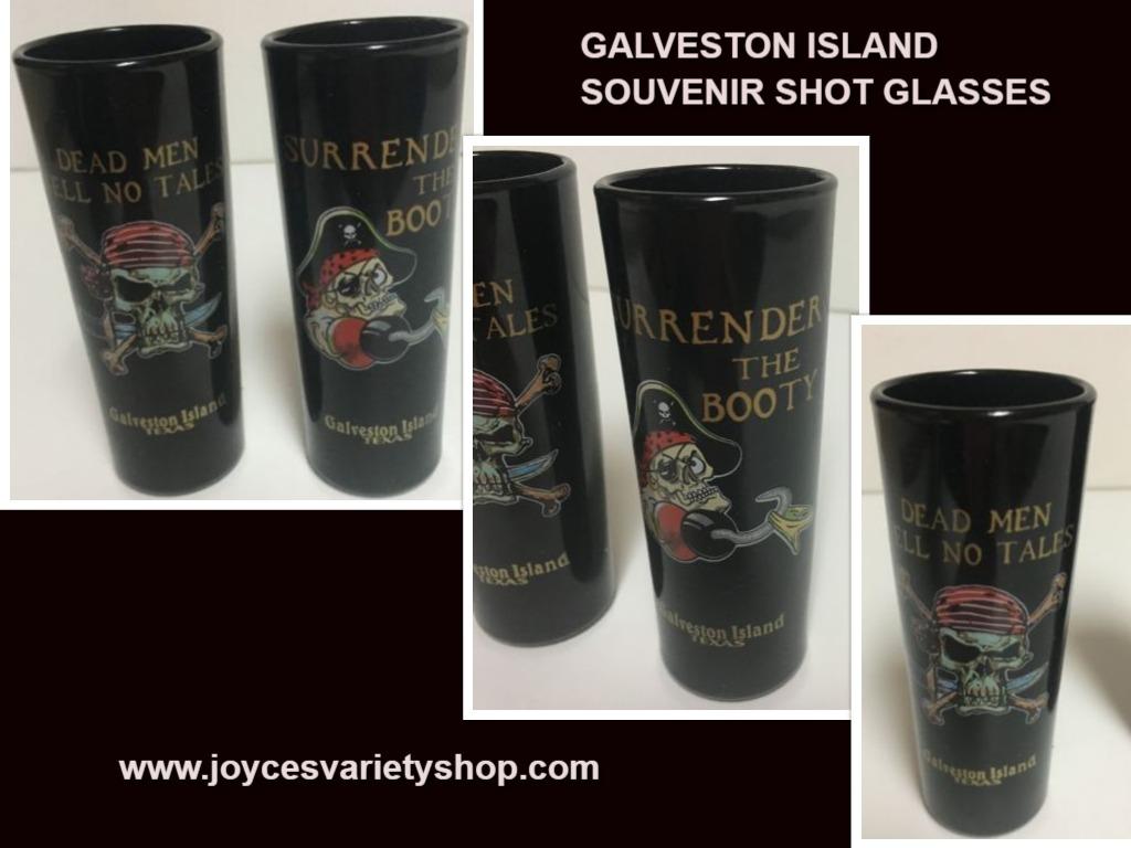 Galveston shot glass web collage