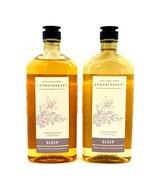 2 Bath & Body Works Aromatherapy Sleep Cedarwood Vanilla Wash & Foam Bat... - $23.72