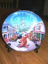 BRADFORD EXCHANGE Disney 25TH ANIVERSARY MAIN ST. U.S.A.  #995A - $31.67