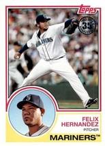 2018 Topps 1983 Topps #83-61 Felix Hernandez NM-MT Mariners - $0.99