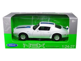 1972 Pontiac Firebird Trans Am White 1/24 - 1/27 Diecast Model Car by We... - $32.98