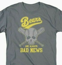 Bad News Bears T-shirt Baseball Skull 1970s movie retro cotton tee  PAR134 image 2