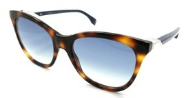 Fendi Sunglasses FF 0200/S IPR08 55-19-140 Havana Blue / Dark Blue Gradient - $98.49
