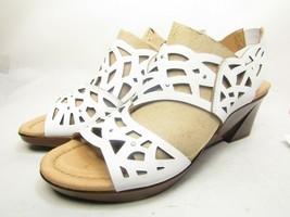 Earth Camellia Sandals White Size 12M - $33.68