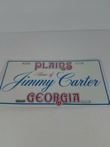 New / Cello Sealed Home Of Jimmy Carter Plains Georgia Car License Plate - $22.76