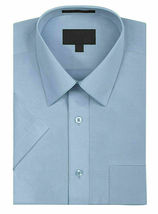 New Open Box Repackaged Men's Short Sleeve Dress Shirts Multiple Colors image 6