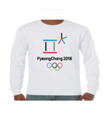 PyeongChang 2018 Winter Olympics Games Mens and Youth Sizes Long Sleeve ... - $16.14+