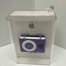 Adidas Branded Apple iPod Shuffle 2nd Generation PURPLE 1GB A1204 - MB23... - $78.99