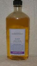 Bath Body Works Aromatherapy SLEEP Lavender Vanilla Body Wash Foam Bath ... - $15.84