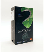 Cardo Packtalk Slim Bluetooth DMC Motorcycle Intercom W/ JBL Speakers - ... - $228.63