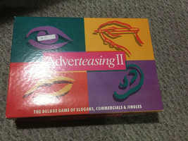 Adverteasing II Game (1991, Cadaco No 802) Complete with Box - $78.21