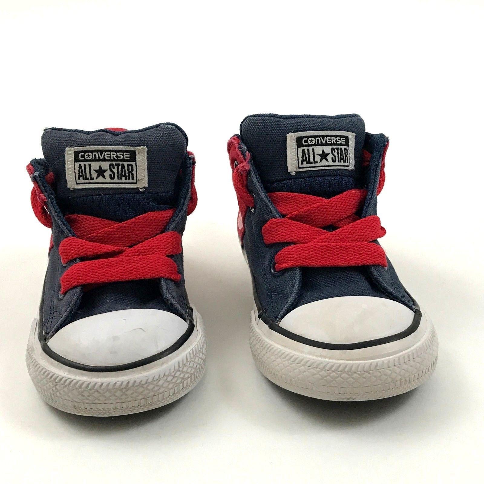 8402921ef31a Bambini Converse Chucks Misura 5 Scarpe per in Tela con Lacci Taylor All  Star -  15.04