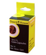 Guardhouse Penny/Cent 19mm Direct Fit Coin Capsules, 10 pack - $7.99