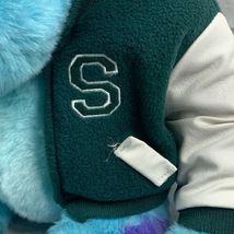 "Monsters Inc. 12"" Sully Plush w/ Varsity Jacket Disney Store Genuine Original image 4"