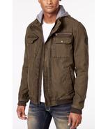 Levi's Men's Twill Hooded Bomber Jacket, Olive, Size XXL, MSRP $149 - $74.24