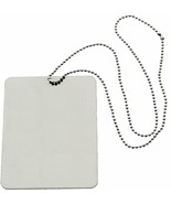 """Camping Mirror & Chain Stainless Steel 3""""x4"""" Portable Handheld Compact E... - $7.99"""