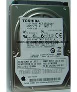160GB 5400RPM SATA-300 2.5 INCH HDD2H75 TOSHIBA MK1655GSXF Free USA Ship... - $19.95