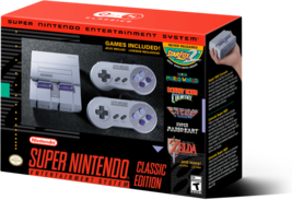 Super Nintendo Entertainment System: Super NES Classic Edition - $220.00