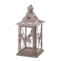 Lantern Outdoor, Butterfly Metal Decorative Floor Patio Outdoor Lantern - $29.39