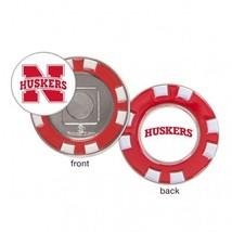 Nebraska Cornhuskers Ball Marker Challenge Coin Poker Chip Metal - $13.85